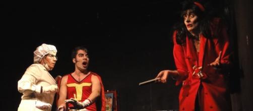 Romina Pinto, Cristian Majolo y Silvina Tenorio