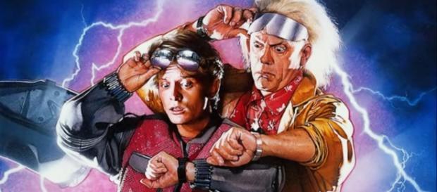 Marty y Doc viajaron en el tiempo de 1985 a 2015