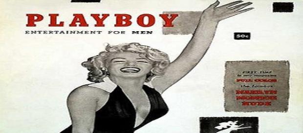 Primeira edição da playboy com Marilyn Monroe