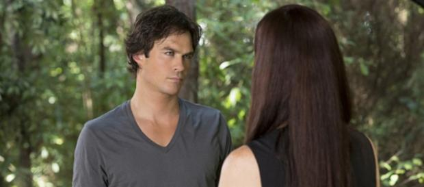 The Vampire Diaries 7x02: Damon e Lily (Foto: CW)