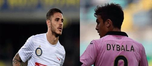Inter-Juventus: Icardi contro Dybala