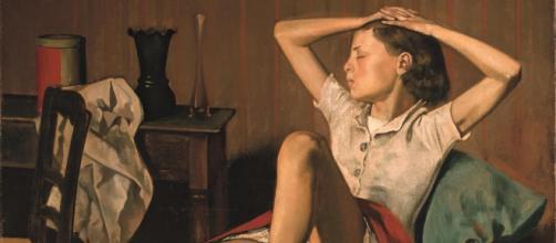 La Thèrese sognante di Balthus, opera del 1938