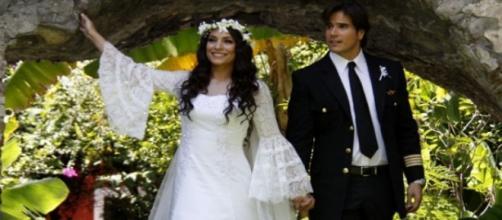 Maricruz e Otávio finalmente se casam