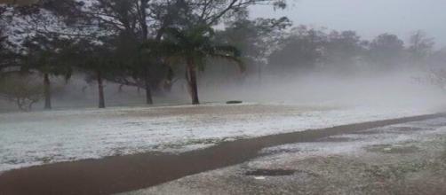 Tempestade espalhou medo pelo Rio Grande do Sul
