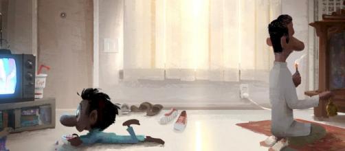 Una imagen del cortometraje de Disney-Pixar