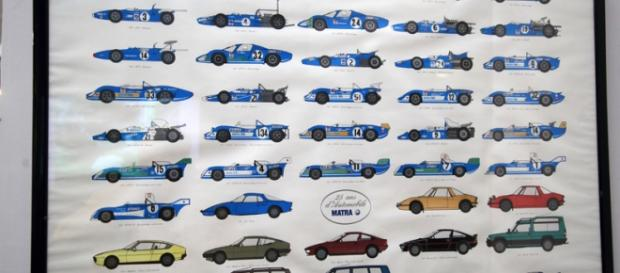 25 ans de production de Matra Automobiles