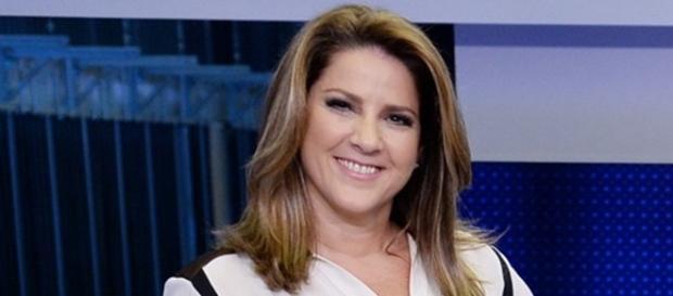 Christiane Pelajo no Jornal da Globo