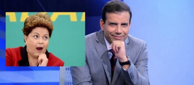 'Dilma faz pacto com um capeta', diz âncora