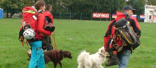 Echipajele de salvare cu câni salvatori - Austria