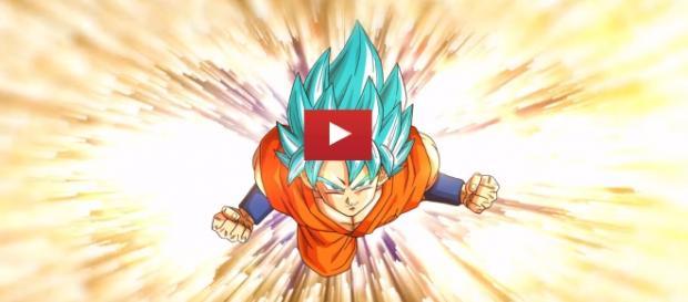 Goku fase super saiyajin Dios super saiyajin