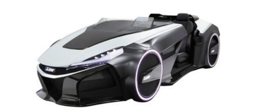 Mitsubishi Emirai 3 Concept en Tokio.