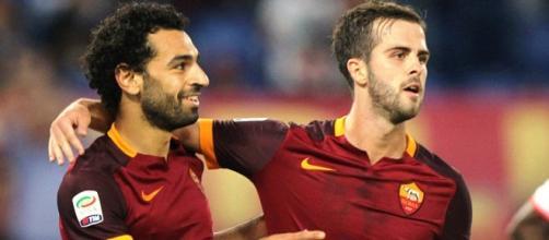 Salah e Pjanic entrambi a segno contro l'Empoli
