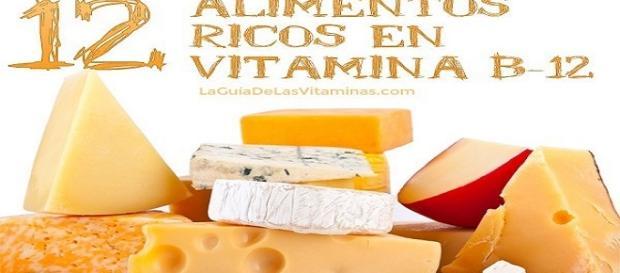 alimentos ricos en vitaminas B12
