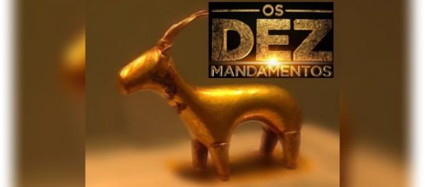Os Dez Mandamentos: Arão constrói bezerro de ouro