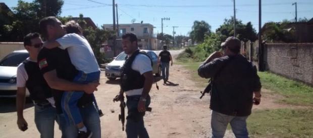 Os criminosos já foram detidos na Venezuela.