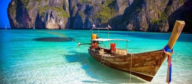Spiaggia di Bangkok in Thailandia