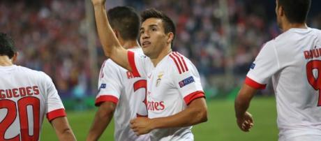 Benfica visita o Galatasaray para a Champions.