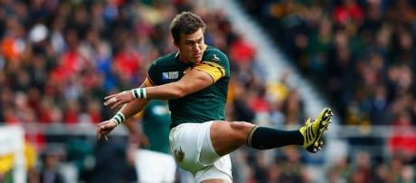 Handre Pollard kicked 18 of South Africa's points