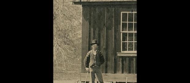 Billy the Kid jogando coquet no Novo México