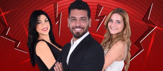 Federica, Alessandro e Lidia, concorrenti del GF14