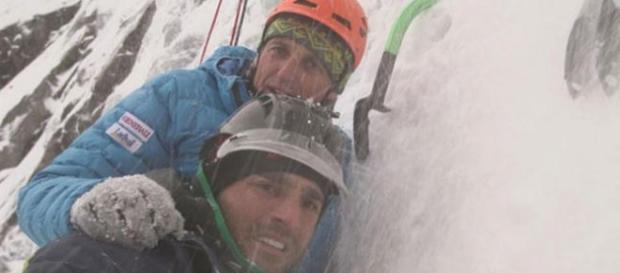 Jesús Calleja y David Bustamante en Noruega