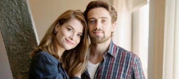 Lívia e Felipe (TV Globo/Divulgação)