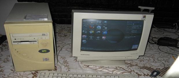 Muchos usan computadoras viejas para esta tarea