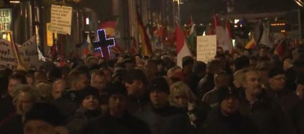 Pegida-Demo am 19. Oktober in Dresden