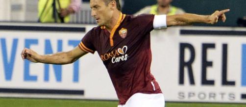 Capitan Francesco Totti mancherà anche a Palermo