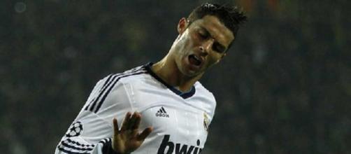 Cristiano Ronaldo celebra su récord de goles