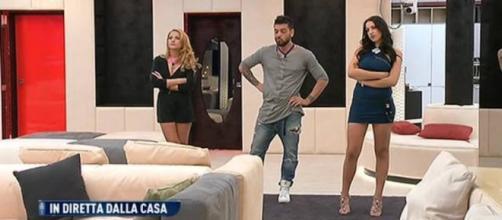 GF 14: Lidia incontra l'ex fidanzato e Federica.