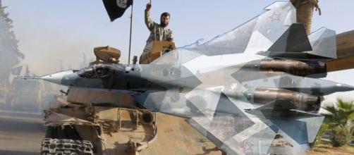 Les avions de chasse russes ont frappé Daesh