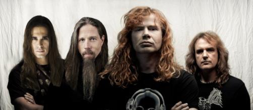 Megadeth - Divulgação Kiko Loureiro