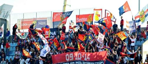 Supporters del Genoa in trasferta