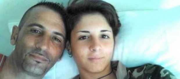 Massimilano Latorre con la figlia Giulia