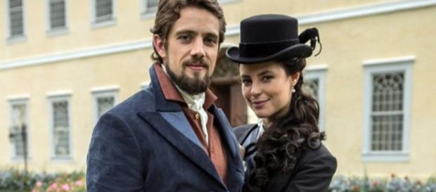 Melissa dá golpe da barriga para casar com Felipe