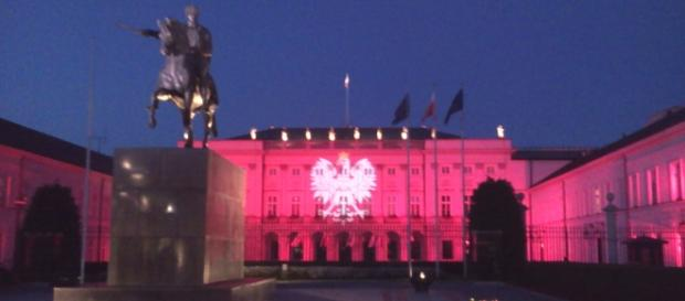 Pałac Prezydencki w Warszawie. Fot.K.Krzak