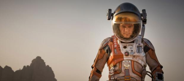 "Tomas del filme ""The Martian"" de Ridley Scott"