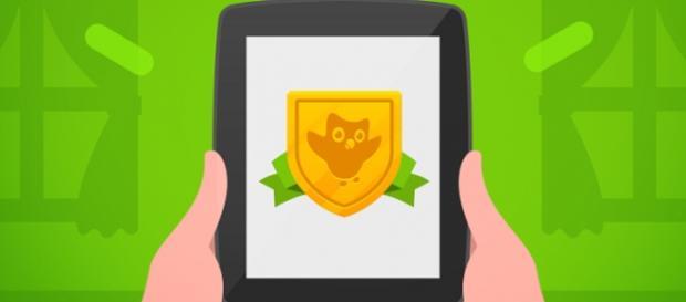 Transparência no teste (Foto: Divulgação/Duolingo)