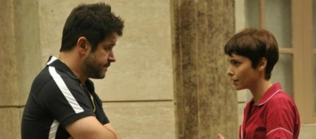 Tufão e Nina em 'Avenida Brasil'