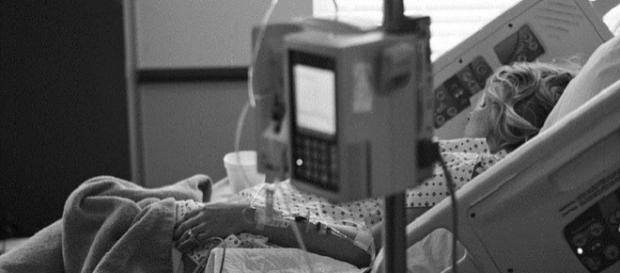 Uns persona en estado de coma.