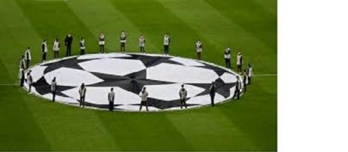 La cerimonia d'apertura della Champions League
