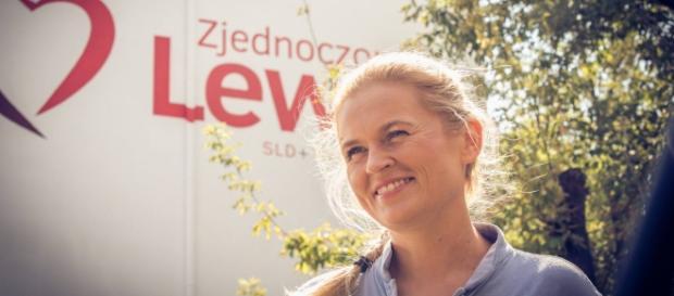 Barbara Nowacka, liderka ZL (fot. FB / B. Nowacka)