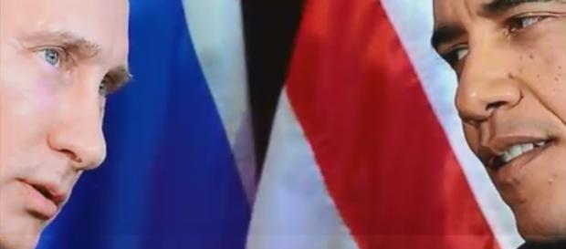 Captura de pantalla Putin y Obama