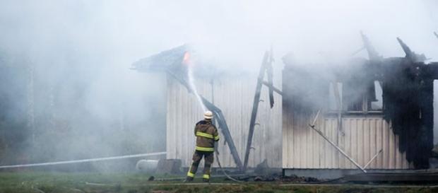 Incêndio - Foto: Adam Ihse /TT News Agency /AP