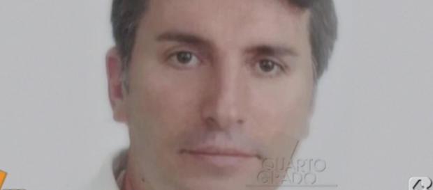 Un'immagine dell'uomo scomparso