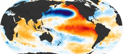 El Niño continua ganhando força. Wikimedia
