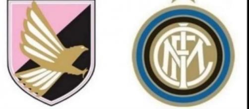 Gli scudetti di Palermo e Inter.