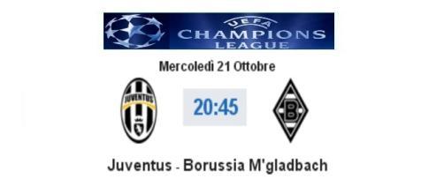 Live Juventus - Borussia Monchengladbach