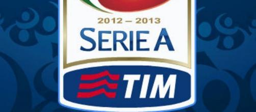 Logo della Serie A, la massima divisione italiana.